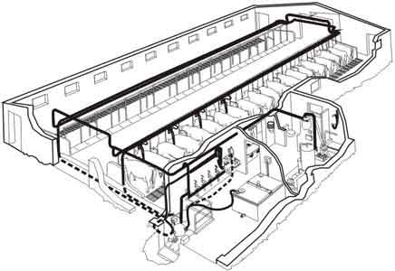Агрегат доильный с молокопроводом (АДМ-8А)