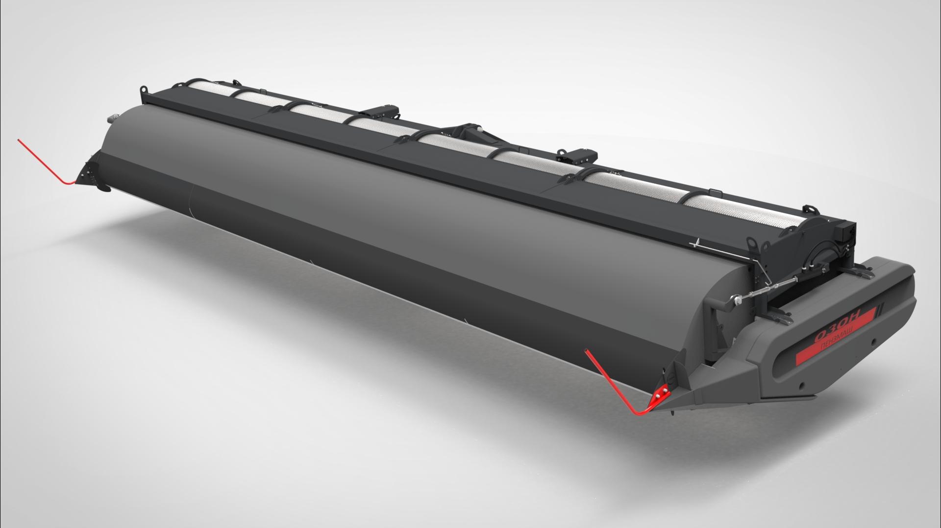 Оборудование зерноуборочное очесывающее навесное (Озон-4)