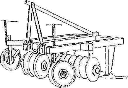Агрегат почвообрабатывающий и для обработки почвы (АП-2,5)