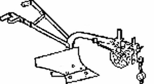 Плуг 1-но корпусный конный (ПК-25)