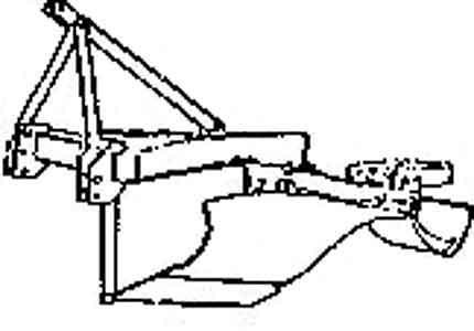 Плуг 2-х отвальный лесной (ПЛ-1-1)