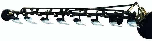 Плуг 8-ми корпусный рыхлитель (ПУН-8-40)