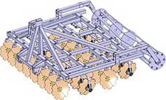 Борона дисковая (БДН 3х4 (4х4))