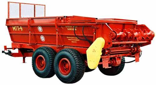 Машина для внесения твердых органических удобрений (МТТ)