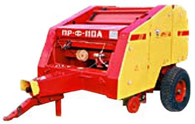 Пресс-подборщик рулонный безременный с приспособлением для уборки льна (ПРФ-110Л)