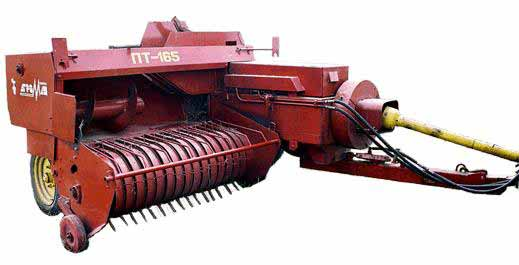 Пресс-подборщик тюковый (ПТ-165)