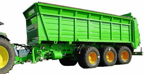 Кузов разбрасывающий (Ferti-Cargo)