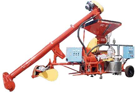Установка предпосевного протравливания семян зерновых и зернобобовых культур (УПС-10)