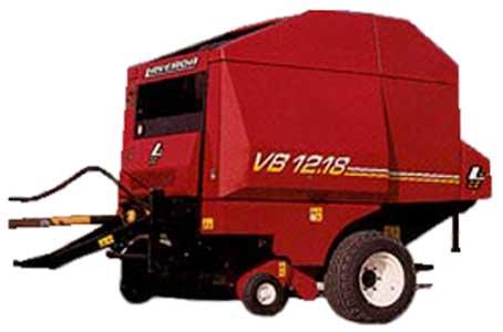 Пресс-подборщик рулонный с изменяемой камерой прессования (Laverda VB 12,18 (S))