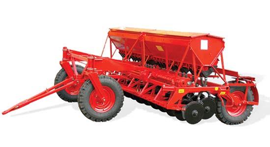 Сеялка зерновая прессовая (Астра СЗП-3,6Б)