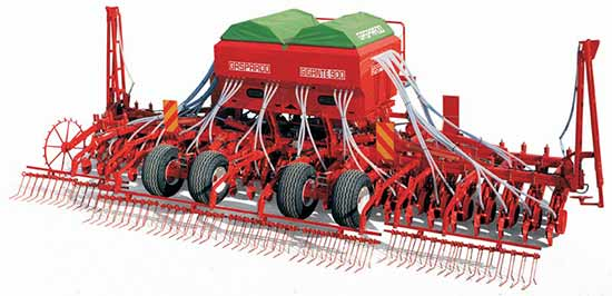 Сеялка пневматическая зерновая для прямого посева со складывающейся рамой (Gigante)