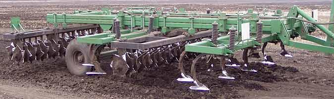 Агрегат полунавесной многооперационный почвообрабатывающий (Орикон)