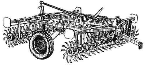 Борона игольчатая (БИГ-3А)