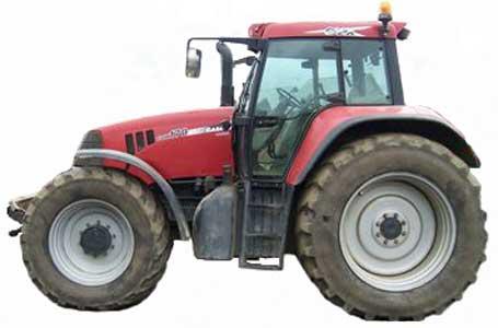 Трактор (Case IH CVX)