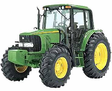 Трактор колесный (John Deere 6020)
