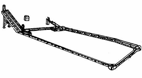 Транспортер скребковый навозоуборочный (ТСНВ-1)