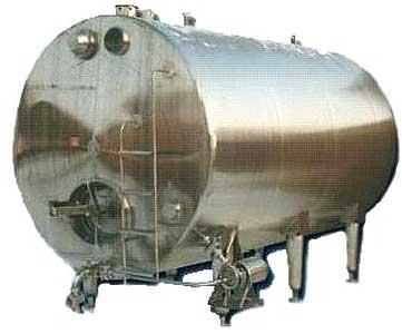Резервуар горизонтального типа (В2-ОМГ-4М (10, 25))