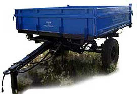 Полуприцеп тракторный самосвальный (1ПТС-2,5)