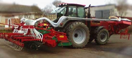 Агрегат почвообрабатывающе-посевной с активными рабочими органами (АПП-6 АБ)