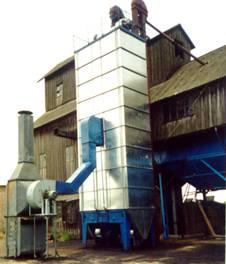 Зерносушилка шахтная модульная (СЗШР-8(16))