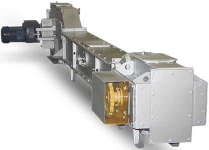 Конвейер с погруженными скребками (КПС(2М) и КПС(2М)-Т)