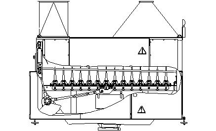 Машина трясильная для льна (МТ-1Л)