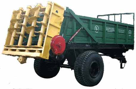 Машина для внесения твердых органических удобрений (РТД)