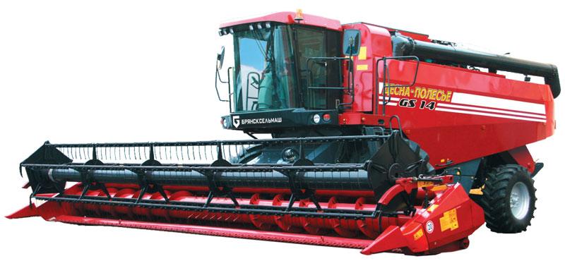 Комбайн зерноуборочный Палессе GS14 (КЗС-1420)
