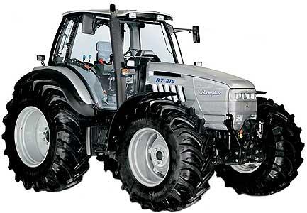 Трактор колёсный универсальный (Lamborghini R7.210)