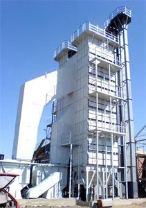 Зерносушилка шахтного типа (СП)