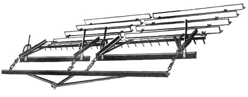 Шлейф борона прицепная (ШБ-2,5)