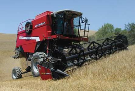 Комбайн зерноуборочный для работы на склонах (Laverda AL quattro)