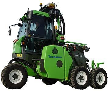 Шасси для работы на виноградниках (TXH 1400)