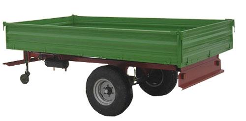 Прицеп тракторный самосвальный (ТСП)