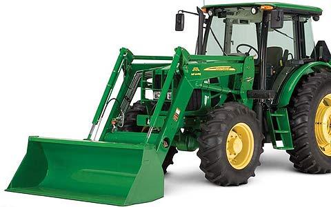 Погрузчик тракторный универсальный (John Deere)