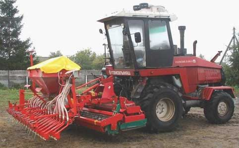 Агрегат почвообрабатывающе-посевной c активными рабочими органами (АПП-4)