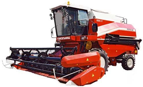 Комбайн зерноуборочный самоходный (Палессе GS07)