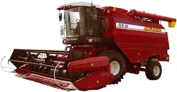 Комбайн зерноуборочный самоходный (Палессе GS10)