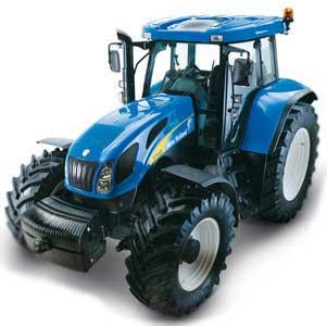 Трактор (New Holland T7500)