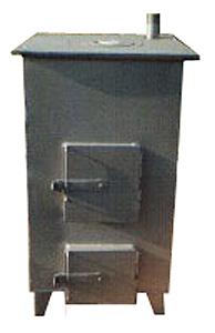 Котел отопительный бытовой (угольный) (КО-25)