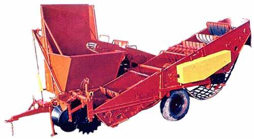 Комбайн картофелеуборочный (Л-601)
