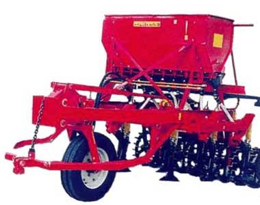Сеялка-культиватор стерневая зернотуковая для разбросного посева (СКП-2,1 Л)
