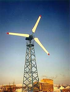 Станция ветроэлектрическая мобильная автономная (Фрегат)
