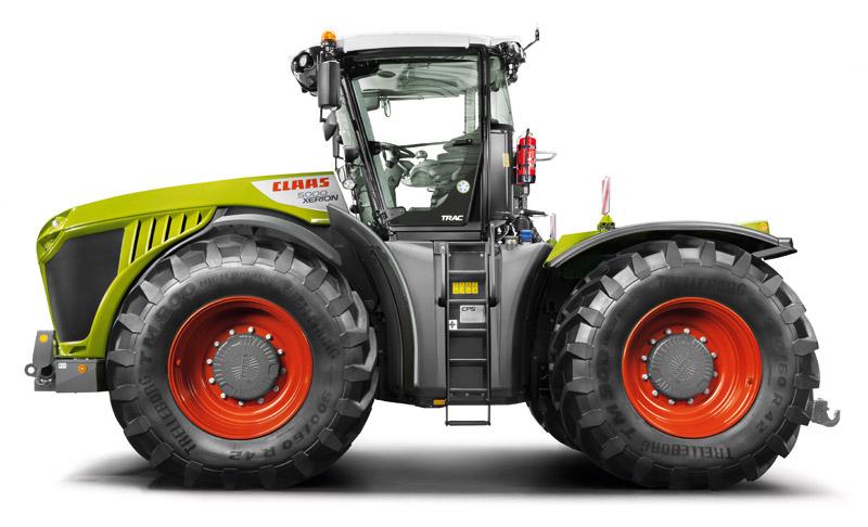 Трактор (XERION 5000-4000)