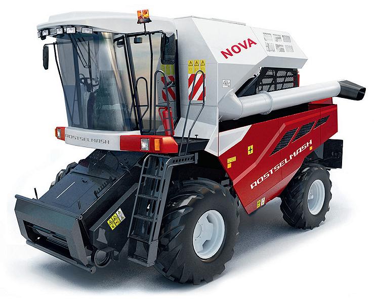 Комбайн зерноуборочный (NOVA)
