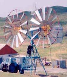 Установка ветроэлектрическая двухмодульная (ВЭ-5Т-2М)