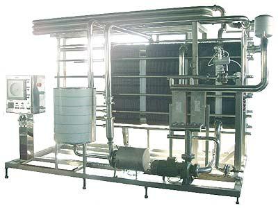 Установка теплообменная пластинчатая пастеризационно-охладительная для молока  (ОКЛ-25)