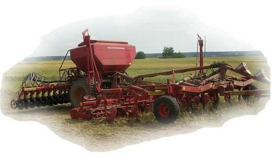 Агрегат почвообрабатывающий посевной (АПП-6П)