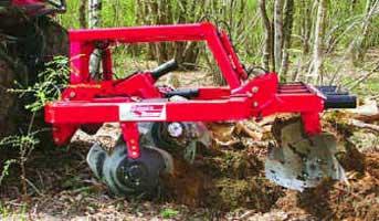 Лущильщик лесной (Timberdisc)