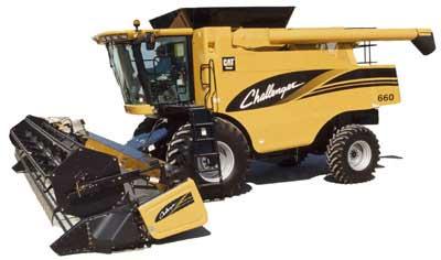 Комбайн зерноуборочный роторный (Challenger 660 (670, 680))